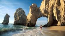 El famoso arco, símbolo de Los Cabos.