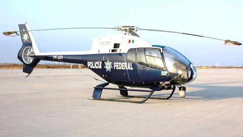 Policia Federal y Policias Estatales Mexico HELICOPTERO-1808