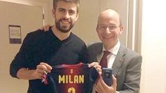Desde su nacimiento, Milan es socio del Barcelona.