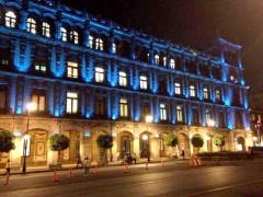 Las fachadas de los principales edificios del Centro Histórico competirán con juegos de luces pàra potenciar su arquitectura.