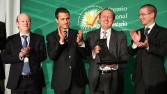 El presidente Enrique Peña Nieto inauguró ayer el XXX Encuentro del Consejo Nacional Agropecuario, donde anunció una reforma para el campo.