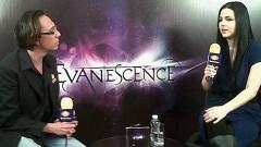 El periodista Gerardo Jiménez entrevista a Amy Lee.