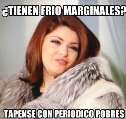 """A la actriz mexicana Itatí Cantoral, le encanta pertenecer a la cultura pop con los memes en las redes sociales utilizando su personaje de """"Soraya Montenegro"""" de la telenovela María la del barrio."""