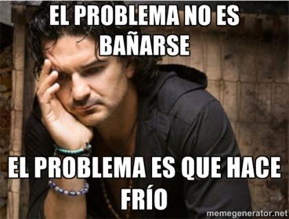El frío que se siente en el país ha servido de inspiración para que se realicen memes de Ricardo Arjona.