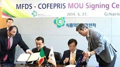 El titular de la Cofepris,Mikel Arriola, firmó un memorándum de entendimiento con autoridades sanitarias de Corea del Sur.
