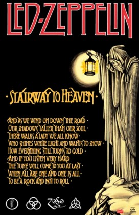 """El análisis de """"Stairway to Heaven"""" podría seguir casi hasta el infinito."""