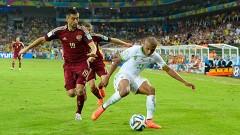 Curitiba, Brasil.- Como segunda del Grupo H, Argelia paso a la segunda ronda de la Copa del Mundo al empatar 1-1 con Rusia.