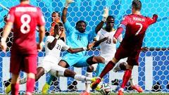 Brasilia, Brasil.- Portugal y Cristiano Ronaldo se despiden de la Copa del Mundo con un triunfo sobre Gahna, quien también jugó su último partico.