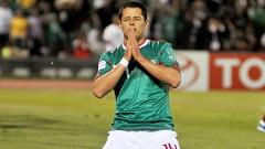 """Del actual plantel sólo Javier Hernández sabe lo que es hacerle gol a la """"Naranja Mecánica""""."""