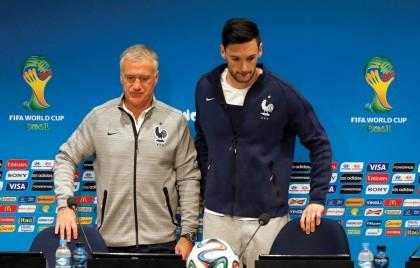 Didier Deschamps, técnico de la selección francesa, señaló en conferencia de prensa que Alemania es la que está presionada.