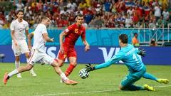 Salvador de Bahía, Brasil.- el mejor partido y el más emocionante hasta el momento fue protagonizado por las selecciones de Bélgica y Estados Unidos, el cual ganó por 2-1 el equipó europeo.