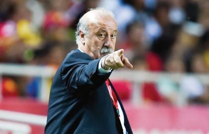 Vicente del Bosque confirmó ayer que seguirá al frente de la selección española de futbol.
