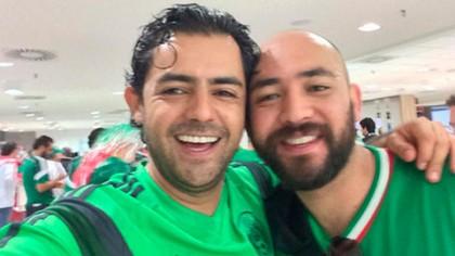 Sergio Israel Eguren Cornejo (izquierda).