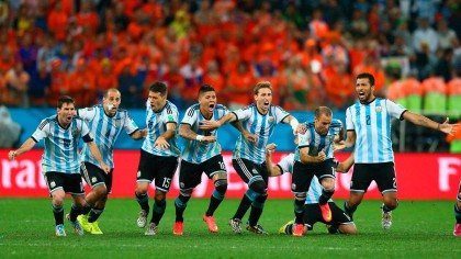 La selección argentina de futbol disputará la Copa del Mundo Brasil 2014 contra Alemania en el estadio Maracaná, de Río de Janeiro.