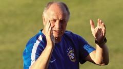 Luiz Felipe Scolari, director técnico de la selección de futbol de Brasil, dice no temerle a la descalificación de la Copa del Mundo 2014.