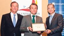 En la entrega del Premio Excelencia Empresarial Ponce de León.