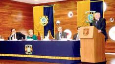 """El rector de la UNAM, José Narro, acudió a la presentación del documento """"Pactos para la Igualdad. Hacia un Futuro Sostenible, de la Cepal."""
