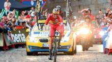 El ciclista español Alberto Contador se adjudicó la Vuelta a España 2014.