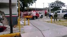 La investigación de la explosión ocurrida en la aduana de Piedras Negras, Coahuila, es realizada por la Procuraduría General de la República.