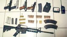Armas como las de esta gráfica de archivo fueron decomisadas en dos poblaciones del estado de Morelos.