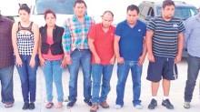 Estas son las ocho personas detenidas en Saltillo, Coahuila, una de las cuales es señalada como jefe de plaza de Los Zetas.
