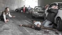 En la trágica escena participaron Silvia Navarro, Jorge Salinas y Pablo Montero.