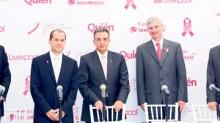 Juan Alanís, Gabriel Navarro, Sergio Allard, Arturo Olivé y Jorge Salgado Martínez.