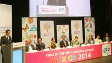 Carlos Joaquín González, en la inauguración de la Feria Internacional de Turismo Cultural.