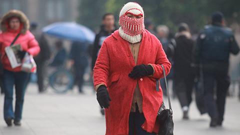 En Hidalgo, en Actopan el termómetro descendió a  los cero grados.