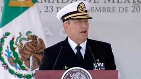 Durante el 193 aniversario del Día de la Armada de México, Soberón Sanz manifestó hoy más que nunca han cerrado filas para enfrentar los grandes retos que amenazan la paz de nuestra nación.