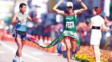 Horacio Nava hizo renacer la caminata mexicana en los Juegos Centroamericanos y del Caribe, al obtener la presea dorada en los 20 kilómetros.