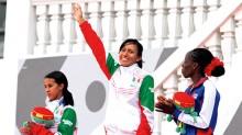 Las mexicanas Brenda Flores y Kathya García hicieron el 1-2 en la prueba de los 10 mil metros planos femenil de los Juegos Centroamericanos y del Caribe.