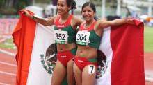 Las fondistas Brenda Flores y Sandra López hacen el 1-2 en la prueba de los 5,000 metros planos. (Foto: Conade)