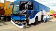 El accidente der ayer en la entrada al Parque Guanajuato Bicentenario sólo dejó cuatro lesionados.