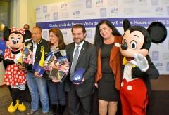 Mickey Mouse y Mimí estuvieron en León.