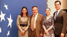 Krasna Bobenrieth, Ricardo Núñez, Rosaura Castañeda y Cristian Contreras.