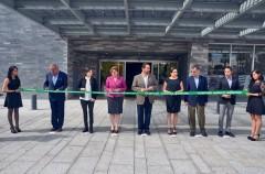En la inauguración del hotel en Querétaro.