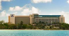 El hotel en Barbados.