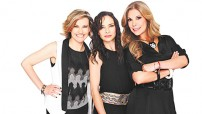 """Ilse, Ivonne y Mimí ya son acreedoras del Disco Platino Oro por 92 mil copias vendidas de su última producción """"Primera Fila""""."""