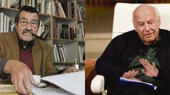 El nobel de literatura   alemán Günter Grass y el uruguayo Eduardo Galeano fallecieron ayer a los 87 y 74 años,  respectivamente.