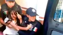 El jueves pasado, la jovencita Alondra Luna Núñez, de 14 años, fue sacada a jalones de su salón de clases en Guanajuato por agentes de la Interpol, para llevársela a Estados Unidos.