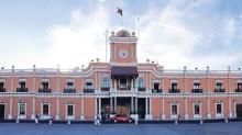El ayuntamiento de Tepic, Nayarit.