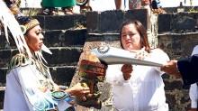 Se realizará este lunes en la zona arqueológica de Teotihuacán, en el Estado de México, el encendido del Fuego Nuevo.