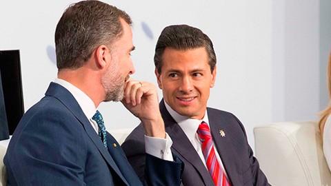 Enrique Peña Nieto participó junto con el rey Felipe VI en el Encuentro Empresarial México-España.