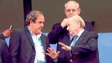 Joseph Blatter, presidente de la FIFA, negó estar preocupado por su persona ni por las amenazas de la UEFA, cuyo presidente Michel Platini, ha anunciado un boicot.