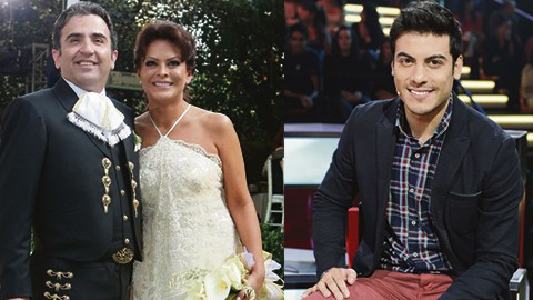 Todo parecía indicar que la crisis matrimonial entre Mara y Vicente comenzó a finales de 2014 cuando al cantante se le vio en un palenque, en Jalisco, besando a una joven llamada Karla Heredia.