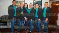 Recientemente recibieron un reconocimiento en Galerías Plaza de las Estrellas por su destacado debut, por lo que algunos integrantes de EB Salsa visitaron la redacción de DIARIO IMAGEN, para platicar tanto del disco como de sus planes a futuro. foto: Arturo Arellano