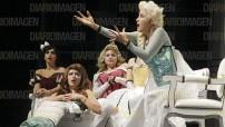 Carisma, belleza y talento fueron algunas de las cualidades que mostró Natalia Sosa en el escenario. foto Asael Grande