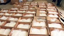 La droga incautada se encontraba en 384 bolsas distribuidas en 192 cajas procedentes de Quintana Roo.