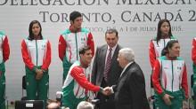 El secretario de Educación, Emilio Chuayffet, abanderó a la delegación mexicana que participará en los Juegos Panamericanos Toronto 2015.